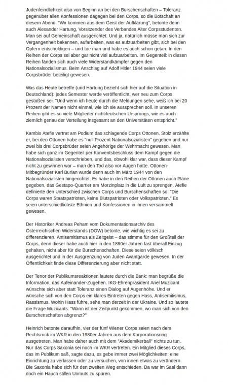 Wiener Zeitung: Chanukka-Kneipe (2/4)